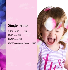 Single Print Prices