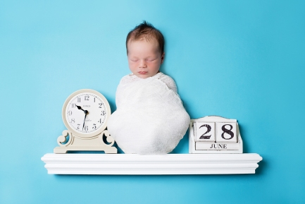 Newborn date and time of birth